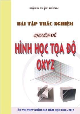 Bài tập trắc nghiệm ôn thi THPT quốc gia Toán